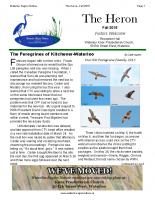 Fall 2015 The Heron