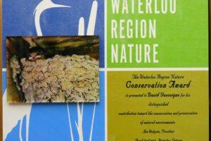 Conservation Award 2018