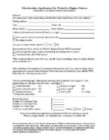 WRN Membership Form