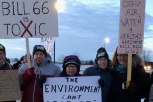 Bill 66 Protest